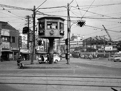 渡辺通一丁目交差点(1972)